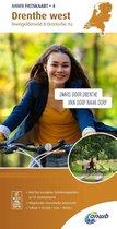 ANWB fietskaart 4 - Drenthe West, Dwingelderveld & Drentsche Aa 1:50.000