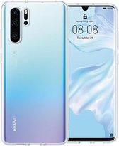 Huawei P30 Pro Hoesje Transparant - Siliconen Case