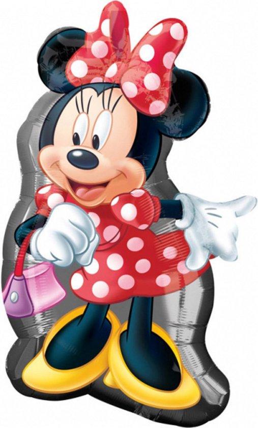 Minnie Mouse Helium Ballon XXL 81x48cm leeg