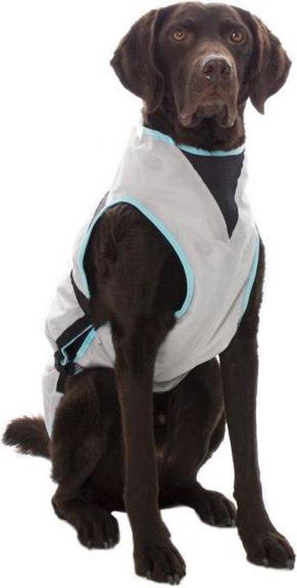 Suitical - Dry cooling vest hond - Zilver - 60 - 85 x 65 - 85 cm