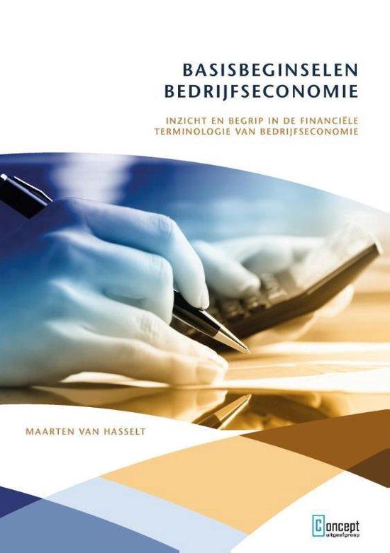 Basisbeginselen bedrijfseconomie - Maarten van Hasselt   Readingchampions.org.uk
