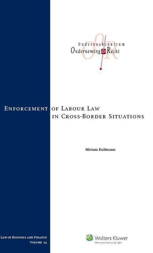 Enforcement of labour law in cross-border situations - Wolters Kluwer Nederland B.V. |
