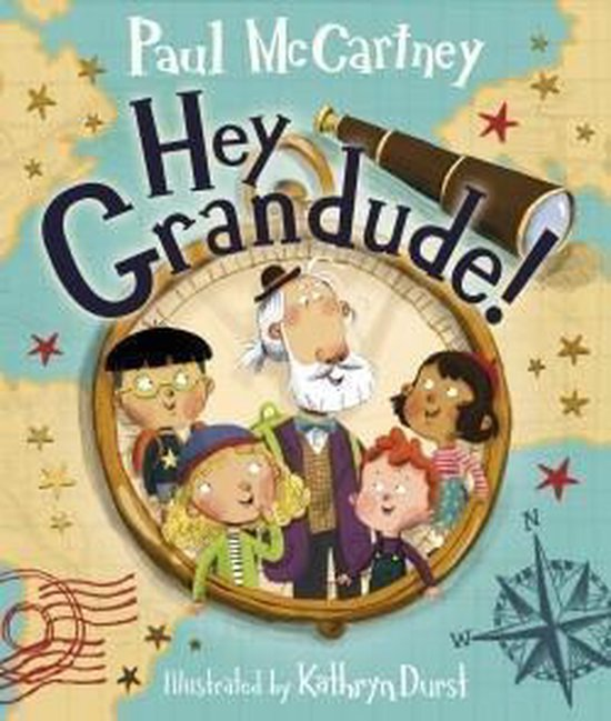 Boek cover Hey Grandude! van Paul McCartney (Hardcover)