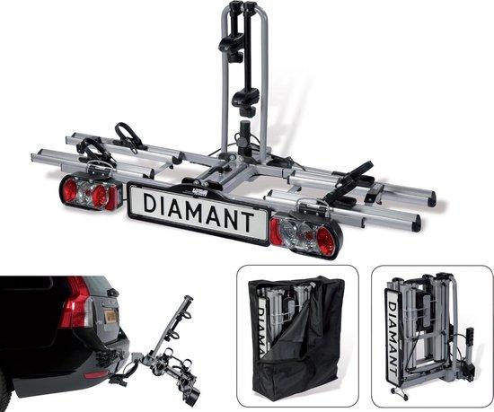 Pro-User Diamant Fietsendrager - 2 Fietsen - Trekhaak - Limited Black