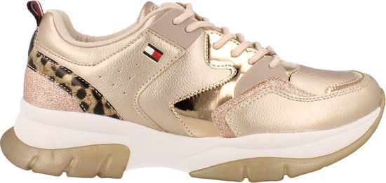 Tommy Hilfiger Sneaker Laag Meisjes/dames Maat 35/40 Chunky - Rosegold | 38