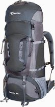 Beefree Backpack - Rugzak - 80 Liter - Nylon - Zwart
