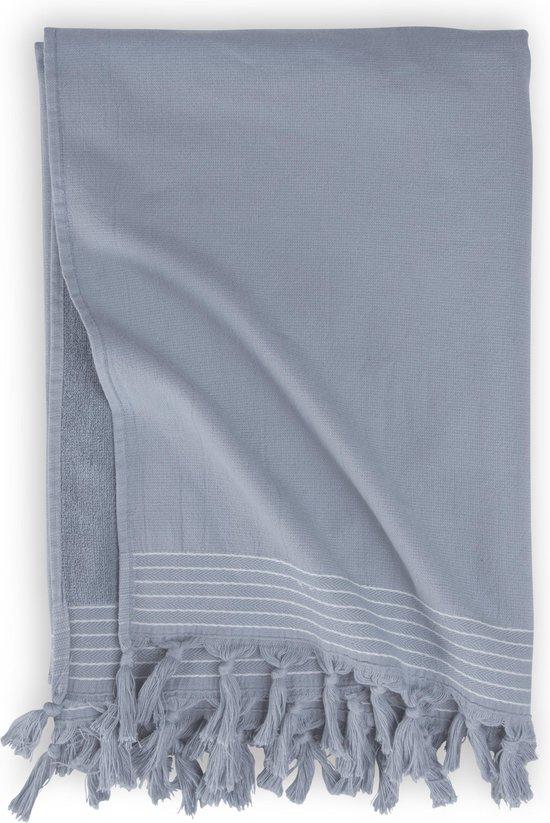 Walra Hamamdoek Soft Cotton - 100x180 - 100% Katoen - Blauw