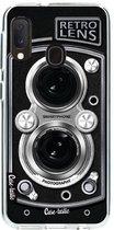 Samsung Galaxy A20e hoesje Camera Retro Lens Casetastic Smartphone Hoesje softcover case