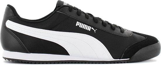 Puma Turino NL - Heren Sneakers Sport Casual Schoenen Zwart 371114-01 - Maat EU 46 UK 11
