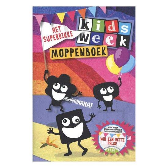 Boek cover Kidsweek  -   Het superdikke Kidsweek moppenboek van Van Holkema & Warendorf (Hardcover)