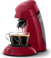 Philips Senseo Original Intensity Select HD6554/90 - Koffiepadapparaat - Diep rood