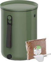 Skaza Bokashi Organko 2 - Prullenbak - Compost - Plastic - Groen - 9.6 L