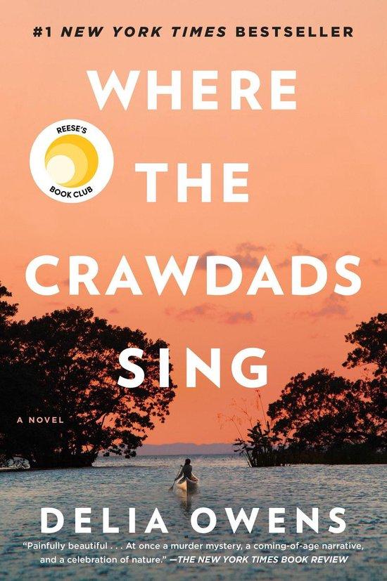 Boek cover Where The Crawdads Sing van Delia Owens (Hardcover)