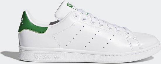 adidas Stan Smith Sneakers - Cloud White/Core White/Green - Maat 46 2/3