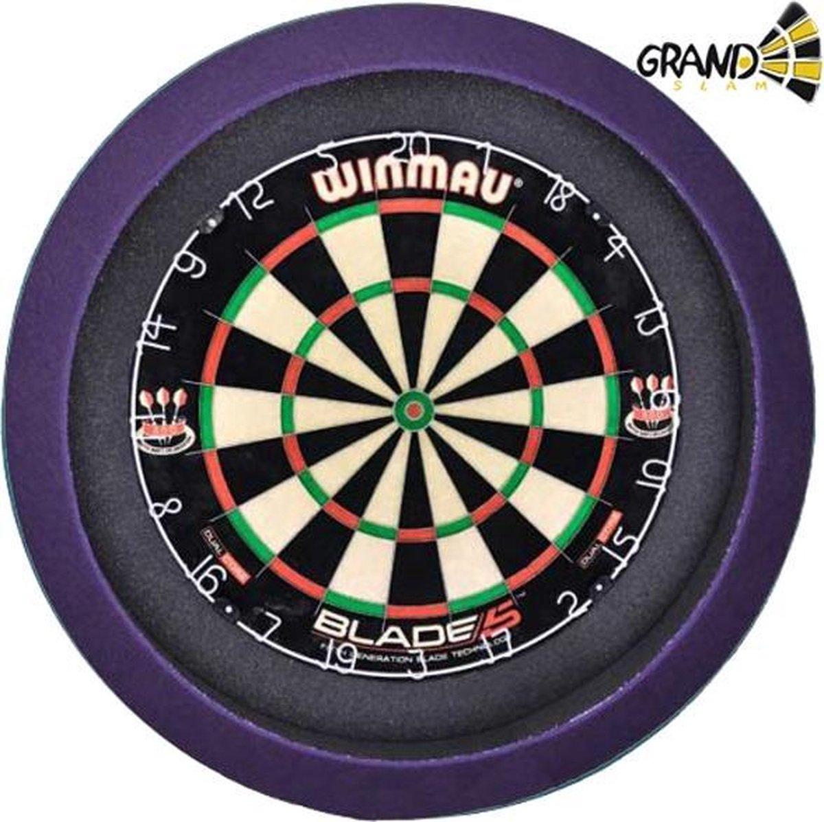 Grandslam Dartbord Verlichting 3.0 (Paars)