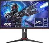 AOC C27G2ZE - Full HD Curved VA Gaming Monitor - 27 inch (240hz)