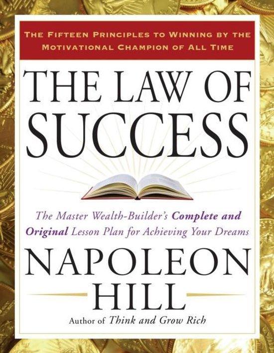 Afbeelding van The Law of Success