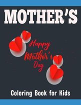 Mother's Coloring Book for Kids