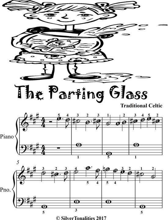 bol.com   parting glass easiest piano sheet music (ebook), traditional  celtic   1230004021360  ...  bol.com