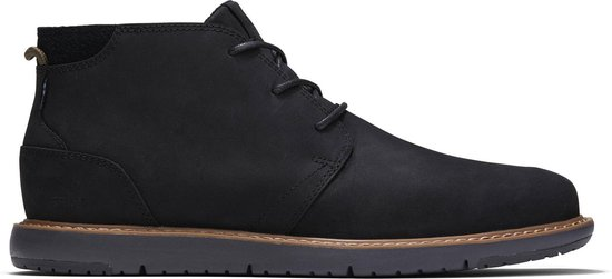 TOMS Navi Heren Veterschoenen - Black - Maat 46