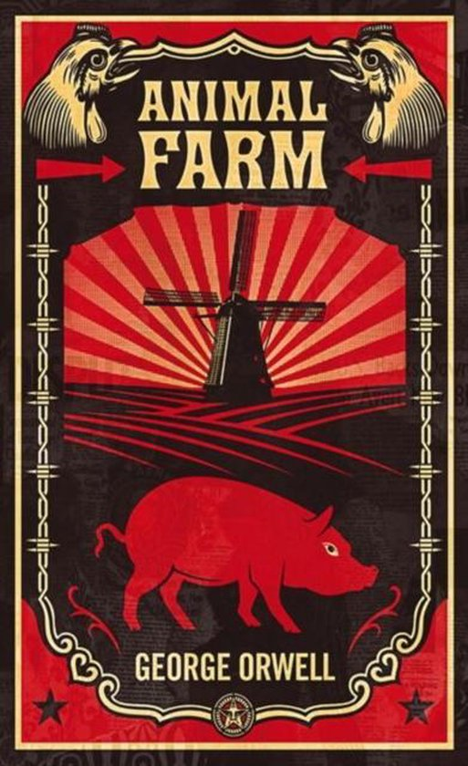 Boek cover Animal Farm van George Orwell (Paperback)