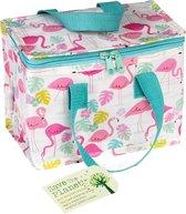 Rex London - Flamingo Bay - Lunch Tasje - Koeltasje - Vintage Look, ouderwets degelijk!