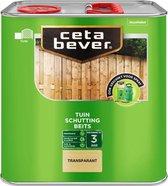 CetaBever Tuin Schutting Beits - Transparant -  Blank - 2,5 liter