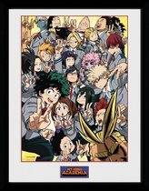 Gb Eye Poster In Lijst My Hero Academia School Group 30 X 40 Cm