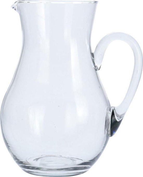 Glazen schenkkan van 2 liter - 2000 ml - Feest/partij/zomer