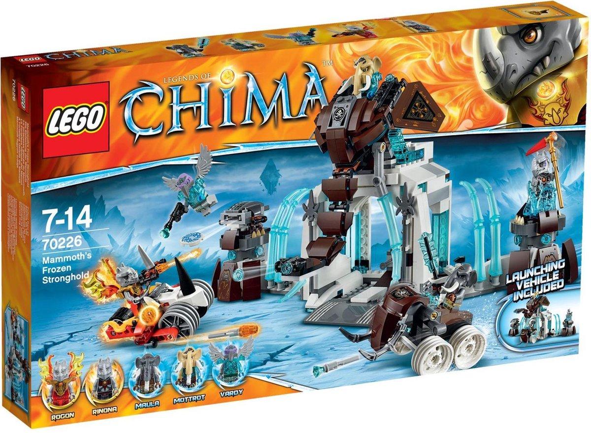 LEGO Chima Bevroren Mammoetvesting - 70226