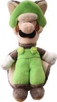 Super Mario Bros.: Flying Squirrel Luigi 22 cm Pluche