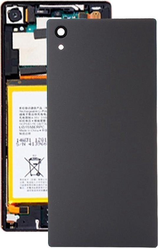 Let op type!! Original Back Battery Cover for Sony Xperia Z5 (Black)