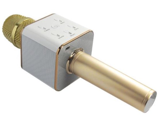 Draadloze microfoon - Microfoon met speaker - Karaoke - Microfoon met USB aansluiting - DisQounts