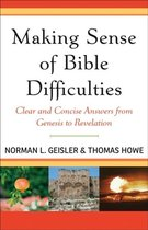 Boek cover Making Sense of Bible Difficulties van Norman L. Geisler