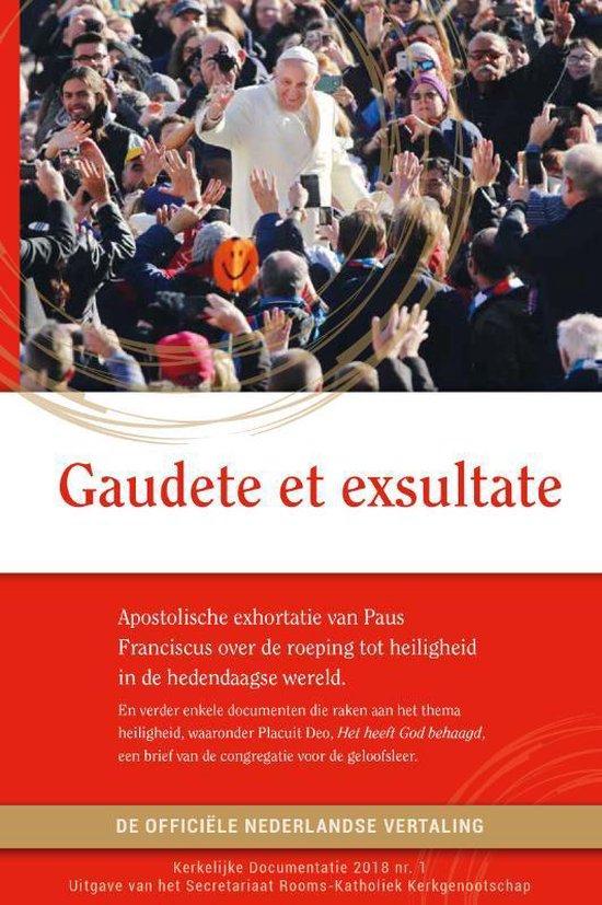 Gaudete et exsultate - Paus Franciscus |