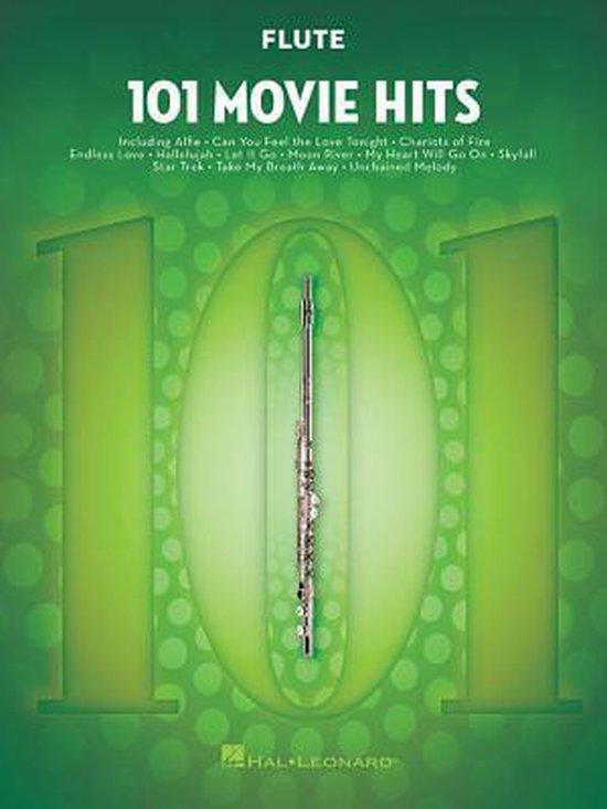 Boek cover 101 Movie Hits For Flute van Hal Leonard Publishing Corporati (Paperback)