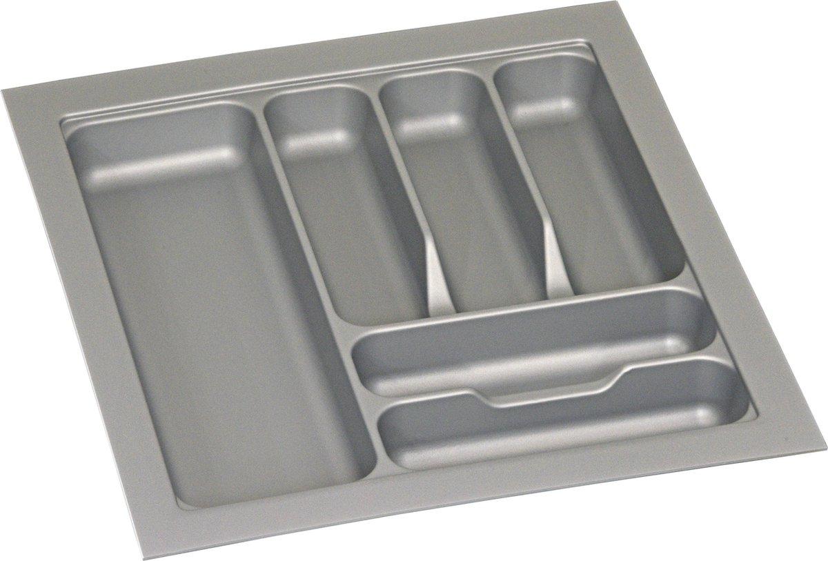 Culinorm Bestekbak - Besteklade - 45 cm breed x 50 cm diep - Grijs