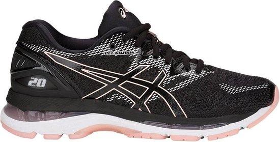 | Asics Gel Nimbus 20 Hardloopschoenen Dames Black