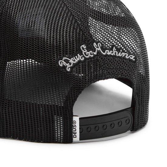 DEUS Piston Shield 2 Trucker cap - Black white - Deus Ex Machina
