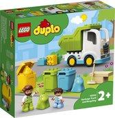 LEGO DUPLO Vuilniswagen en Recycling - 10945
