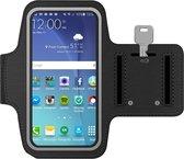 MMOBIEL Hardloop Armband Universeel Zwart - Geschikt voor Apple iPhone, Samsung, Xiaomi, Huawei, Opp