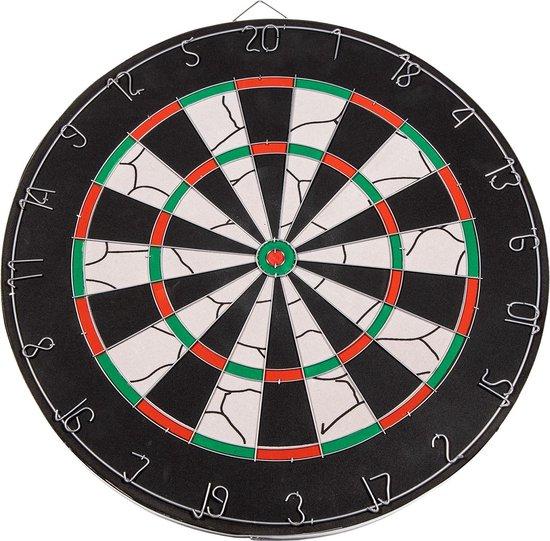 Thumbnail van een extra afbeelding van het spel SportX Dartbord Flocked met 6 Darts