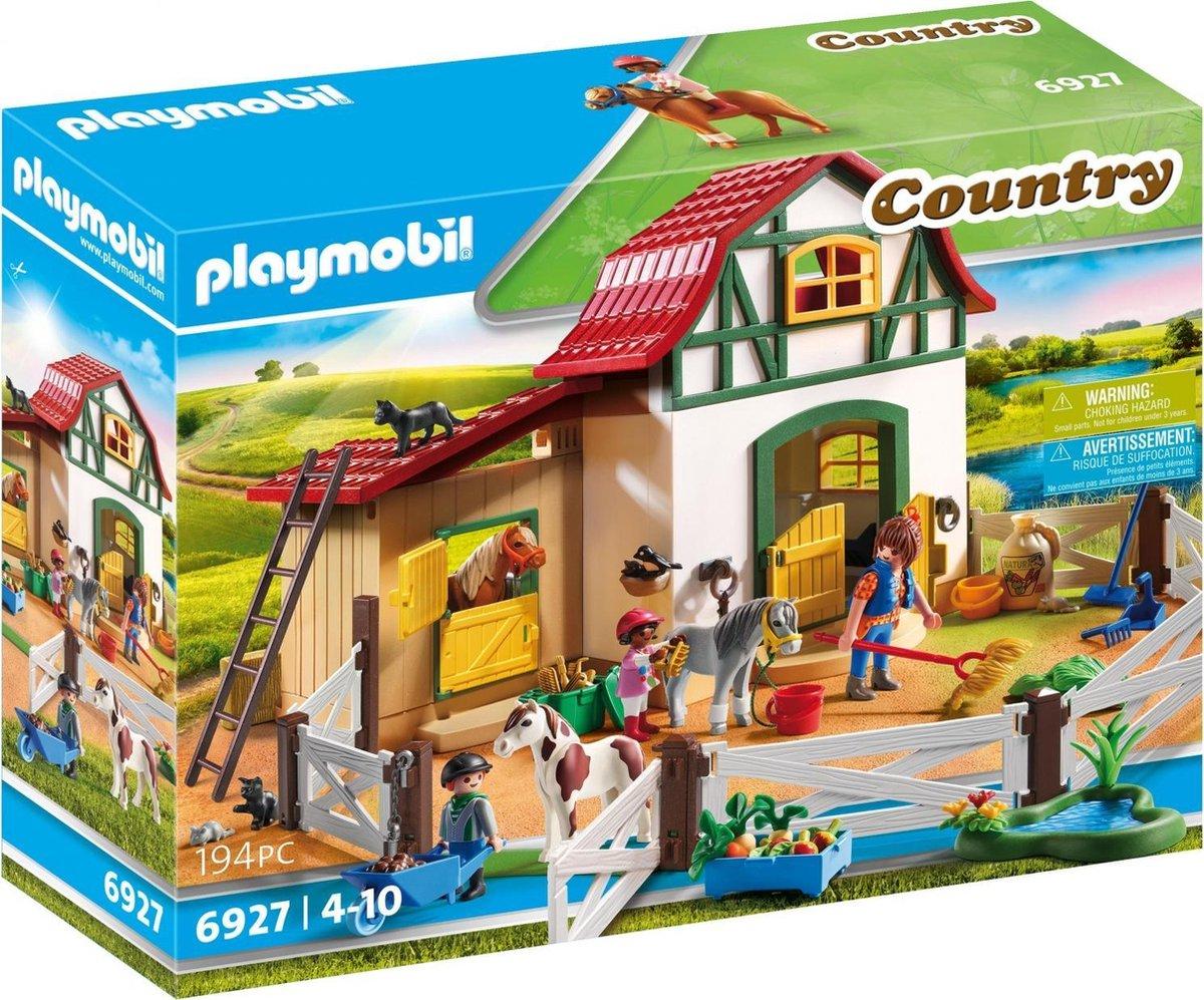 PLAYMOBIL Country Ponypark - 6927