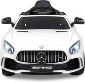 Mercedes GTR AMG Elektrische Kinderauto - Accu Auto - Sterke Accu - Afstandbediening - Wit
