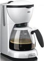 Braun Café House PurAroma Plus KF 520/1 WH - Filter-koffiezetapparaat- Wit