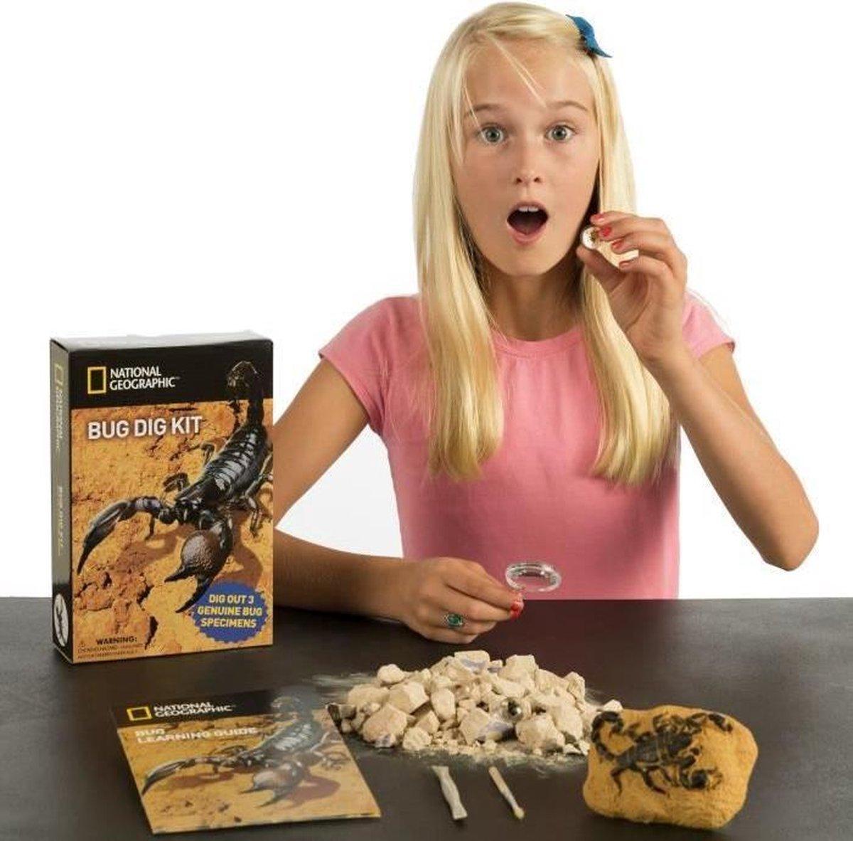 National Geographic - Bug Dig Kit - Experimenteerset