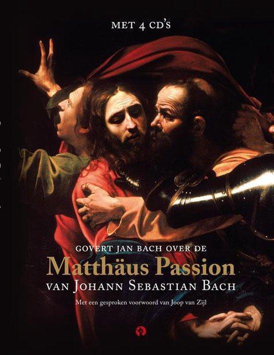 Cover van het boek 'De Matthaus-Passion' van Govert Jan Bach