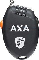 AXA Roll Retractable Kabelcijferslot - 75 cm - Zwart