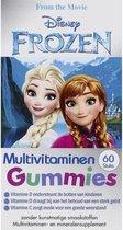 Disney Frozen Multivitamines Gummie - 60 gummies - vitaminen en mineralen supplement - extra vitamine D - zonder kunstmatige smaakstoffen