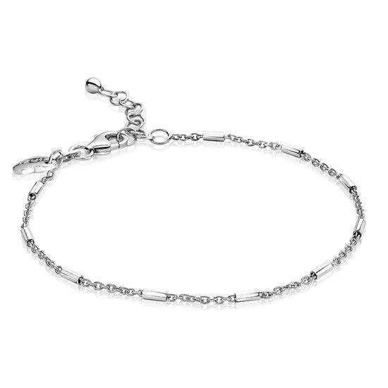 ZINZI zilveren fantasie armband 17-20cm ZIA1648